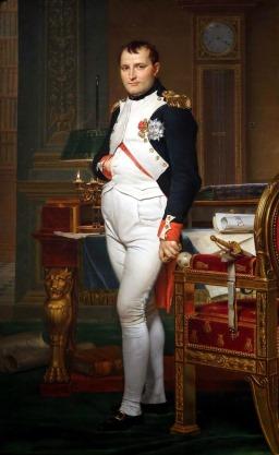Francouzský bůh války Napoleon Bonaparte