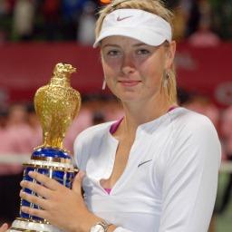Tenisová hvězda Maria Sharapova